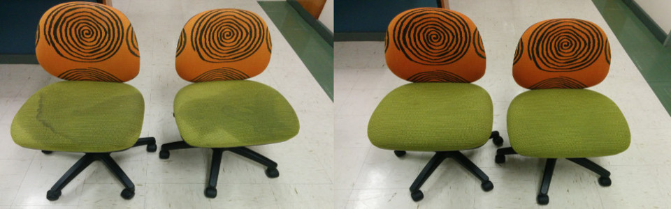 Amazing Office Chair Cleaning!